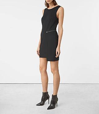 Womens Ado Dress (Black) - product_image_alt_text_5