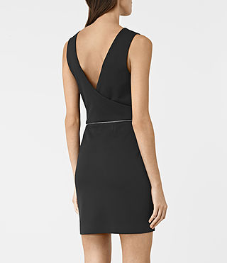Womens Ado Dress (Black) - product_image_alt_text_6