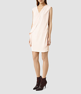 Womens Aurie Dress (CAMI PINK)