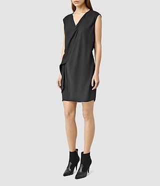 Womens Aurie Dress (Black)