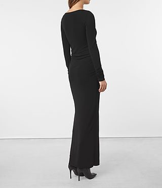 Damen Mon Dress (Black) - product_image_alt_text_4