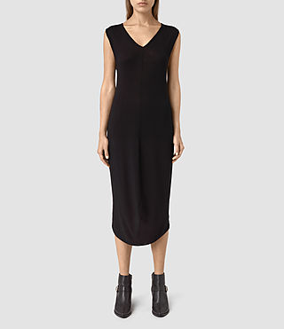 Womens Ero Maxi Dress (Black)