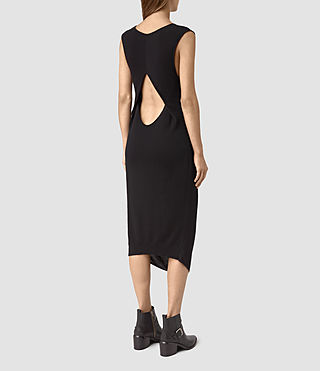 Donne Ero Maxi Dress (Black) - product_image_alt_text_4