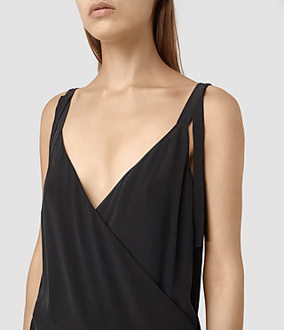 Femmes Vea Dress (Black) - product_image_alt_text_2
