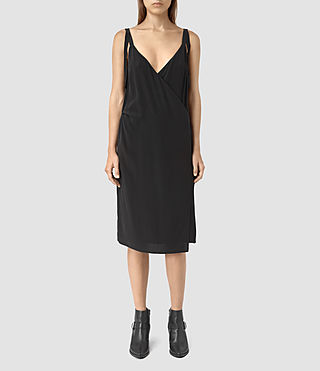 Femmes Vea Dress (Black) - product_image_alt_text_3