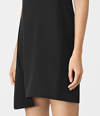 Womens Tara Dress (Black) - product_image_alt_text_2