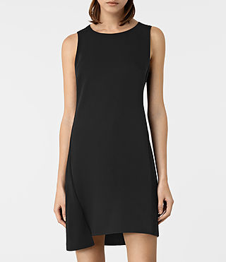Womens Tara Dress (Black) - product_image_alt_text_3