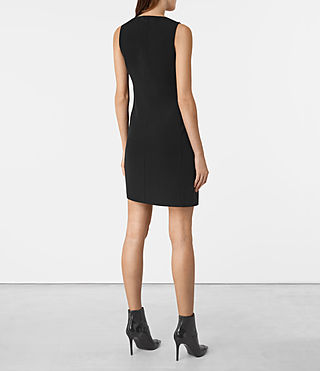 Women's Tara Dress (Black) - product_image_alt_text_5