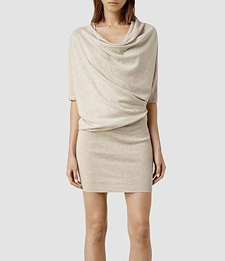 Womens Tilda Dress (Mist Marl)