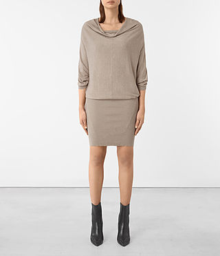 Mujer Elgar Dress (Sable Brown)