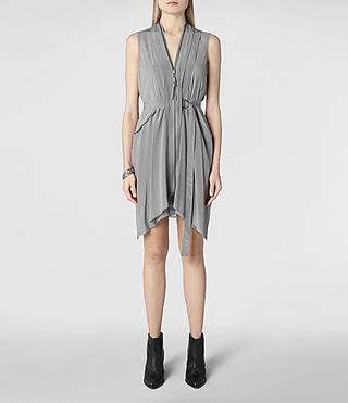 Womens Lewis Dress (Pale Grey)