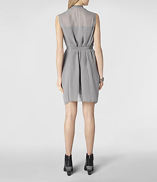 Womens Lewis Dress (Black) - product_image_alt_text_4
