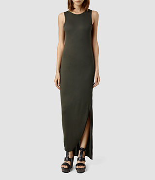 Womens Turo Vi Dress (Peat)