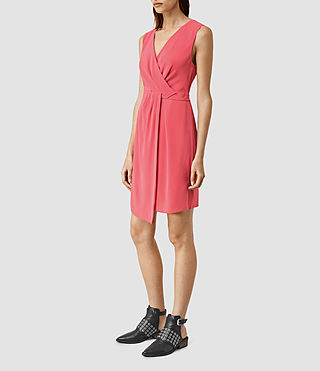 Womens Peak Dress (SORBET PINK) - product_image_alt_text_2