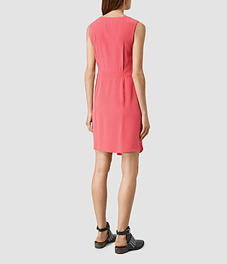 Womens Peak Dress (SORBET PINK) - product_image_alt_text_3