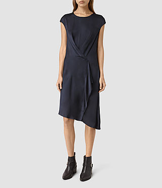 Mujer Breeze Dress (Ink Blue)
