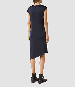 Mujer Breeze Dress (Ink Blue) - product_image_alt_text_4