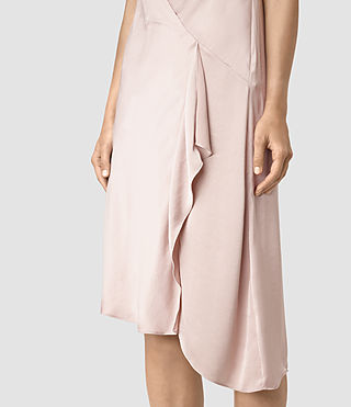 Women's Breeze Dress (ROSE PINK) - product_image_alt_text_2