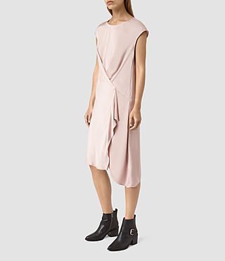 Women's Breeze Dress (ROSE PINK) - product_image_alt_text_3