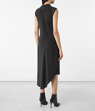 Mujer Malina Dress (Black) - product_image_alt_text_5