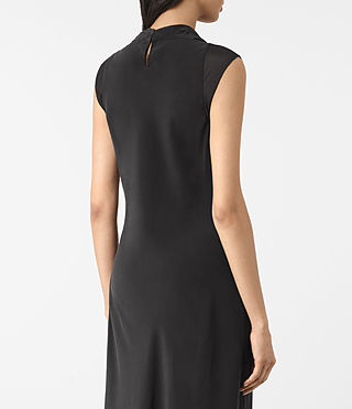 Mujer Malina Dress (Black) - product_image_alt_text_6