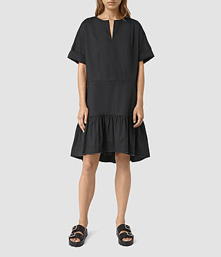 Womens Farah Dress (Black) - product_image_alt_text_1