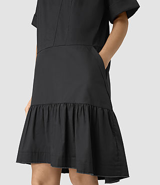 Womens Farah Dress (Black) - product_image_alt_text_2