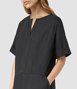 Damen Farah Dress (Black) - product_image_alt_text_3