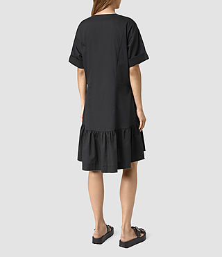 Damen Farah Dress (Black) - product_image_alt_text_5