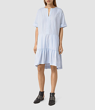 Femmes Farah Dress (Light Blue) -