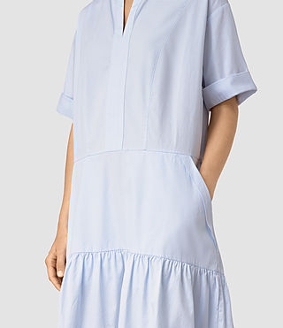 Womens Farah Dress (Light Blue) - product_image_alt_text_2