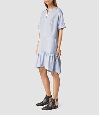 Femmes Farah Dress (Light Blue) - product_image_alt_text_3