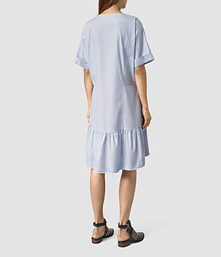 Womens Farah Dress (Light Blue) - product_image_alt_text_4
