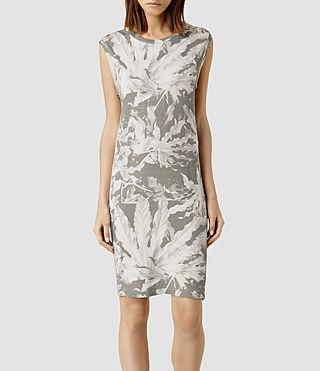 Womens Base Zonia Dress (Chalk)