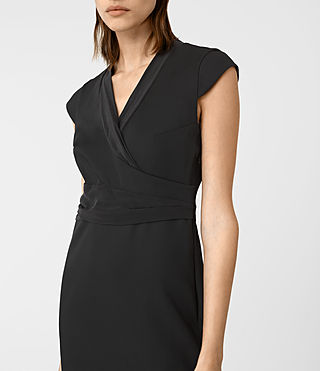 Womens Codia Dress (Black) - product_image_alt_text_2