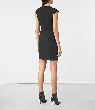 Women's Codia Dress (Black) - product_image_alt_text_5
