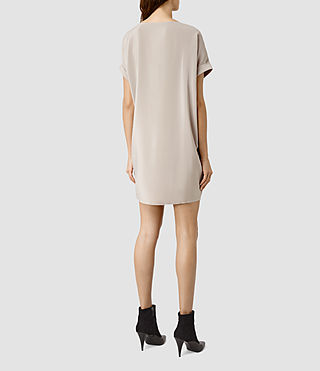Womens Sonny Dress (Taupe) - product_image_alt_text_3