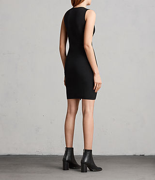 Women's Amara Knit Dress (Black) - Image 5