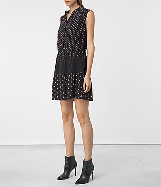 Donne Lin Flic Dress (Black) - product_image_alt_text_3