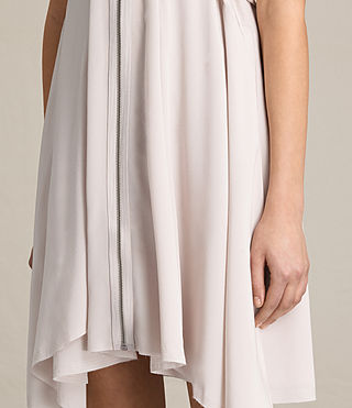 Mujer Jayda Silk Dress (CHAMPAGNE PINK) - product_image_alt_text_6