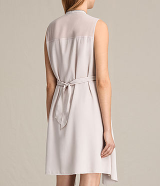 Womens Jayda Silk Dress (CHAMPAGNE PINK) - product_image_alt_text_7