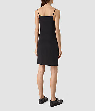 Womens Rywen Short Dress (Black) - product_image_alt_text_4