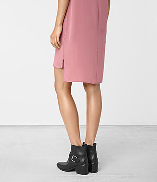 Damen Tonya Dress (MAUVE PINK) - product_image_alt_text_2