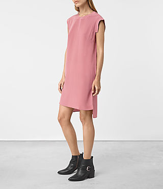 Damen Tonya Dress (MAUVE PINK) - product_image_alt_text_3