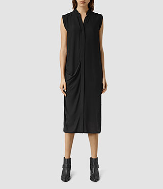 Mujer Cam Dress (Black) - product_image_alt_text_1