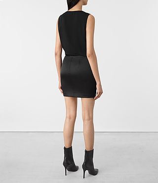 Mujer Iri Dress (Black) - product_image_alt_text_6