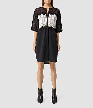 Women's Ifaneva Embroidered Dress (OxbldRed/AubgnPrpl)