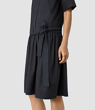 Femmes Abel Dress (Ink Blue) - product_image_alt_text_2