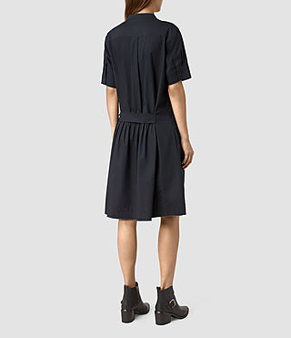 Femmes Abel Dress (Ink Blue) - product_image_alt_text_4