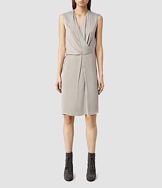 Womens Arch Vi Dress (Taupe)